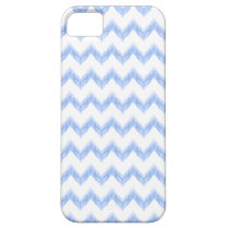 original watercolor blue chevron zigzag iPhone SE/5/5s case