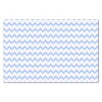 original watercolor chevron zigzag tissue paper