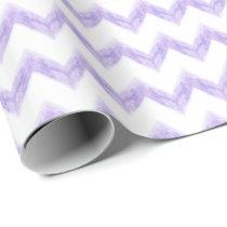 original watercolor chevron zigzag wrapping paper
