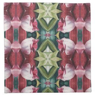 Original Watercolor Floral Print Napkins