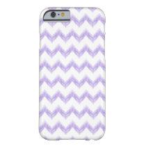 original watercolor purple chevron zigzag barely there iPhone 6 case