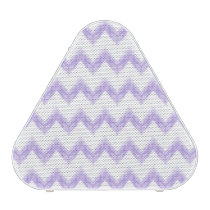 original watercolor purple chevron zigzag speaker