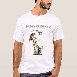 Original Wiseman Christmas Mistletoe T-Shirt