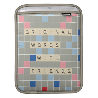 Original Words With Friends Sleeves For iPads