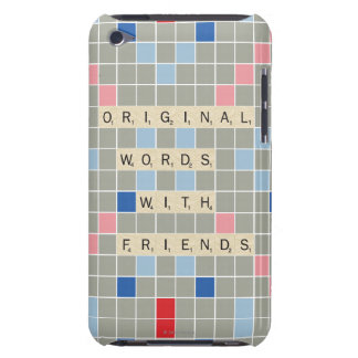 Original Words With Friends iPod Touch Case