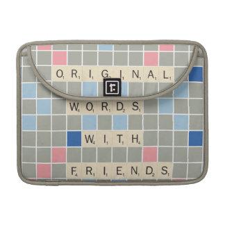 Original Words With Friends MacBook Pro Sleeve