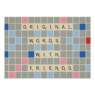 Original Words With Friends Poster