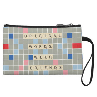 Original Words With Friends Wristlet