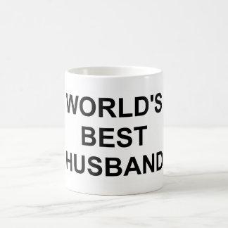 Original World's Best Husband Classic White Coffee Mug