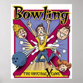 "Original ""X"" Game Poster"