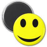 Original Yellow Smiley Face 2 Inch Round Magnet