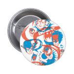 Originales de DC - explosión del logotipo Pin