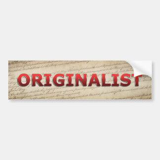 Originalist Bumper Sticker