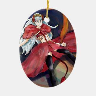 Origional artwork- Melody Ceramic Ornament