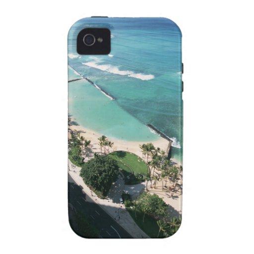 Orilla 6 vibe iPhone 4 funda