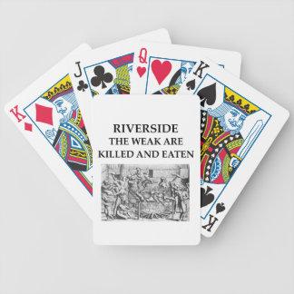 orilla cartas de juego