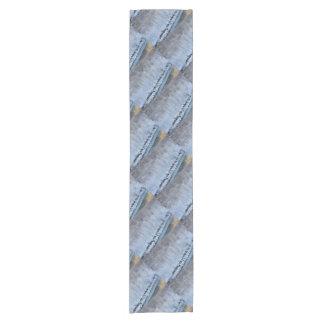Orilla congelada camino de mesas corto