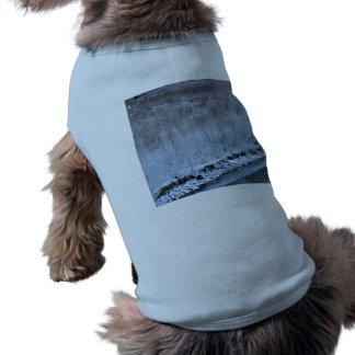 Orilla congelada camiseta sin mangas para perro