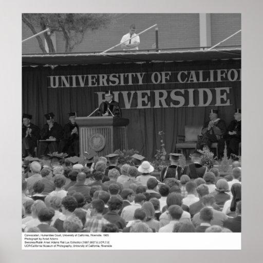 Orilla Convocation, 1966 del UC Posters