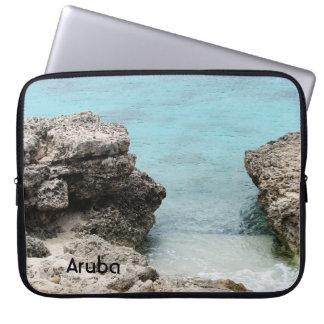 Orilla de Aruba Mangas Computadora