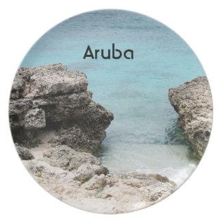 Orilla de Aruba Plato De Comida