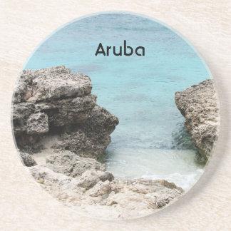 Orilla de Aruba Posavasos Cerveza