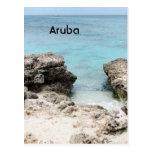 Orilla de Aruba Postal