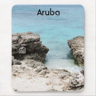 Orilla de Aruba Tapetes De Ratones