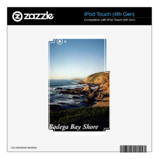 Orilla de la bahía del Bodega Calcomanías Para iPod Touch 4G