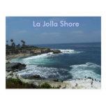 Orilla de La Jolla Tarjetas Postales