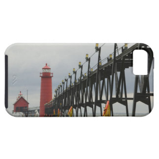 Orilla de los E E U U Michigan el lago Michigan iPhone 5 Case-Mate Carcasa