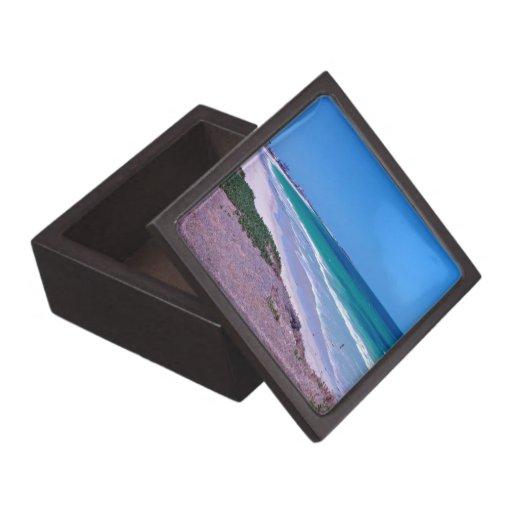 Orilla de mar caja de joyas de calidad