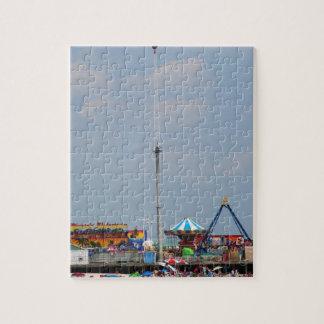 Orilla de New Jersey de las alturas de la playa de Rompecabezas Con Fotos