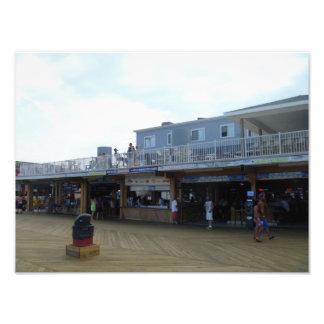 Orilla del jersey: Beachcomber - playa New Jersey Impresión Fotográfica