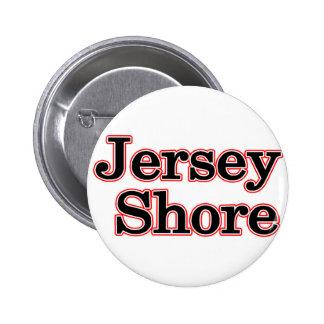 Orilla del jersey pin redondo de 2 pulgadas