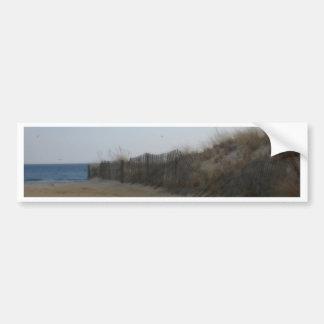 Orilla del jersey * playa ablandada etiqueta de parachoque