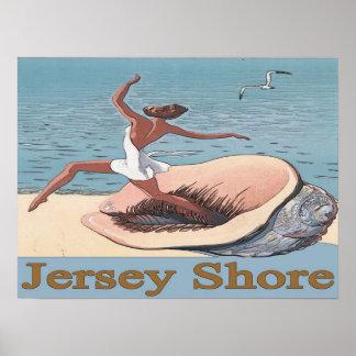 Orilla del jersey, poster de Shell