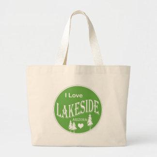 Orilla del lago Arizona Bolsas Lienzo