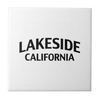 Orilla del lago California Tejas