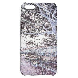 Orilla del lago - cubierta del caso del iPhone 5