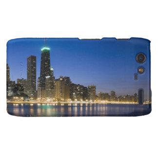 Orilla del lago de Chicago Droid RAZR Carcasas