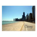 orilla del lago de Chicago Postal