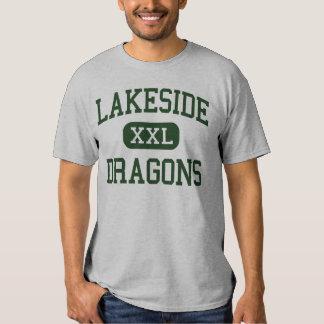 Orilla del lago - dragones - High School Playeras