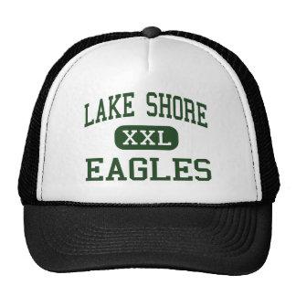 Orilla del lago - Eagles - alta - Angola Nueva Yor Gorro De Camionero