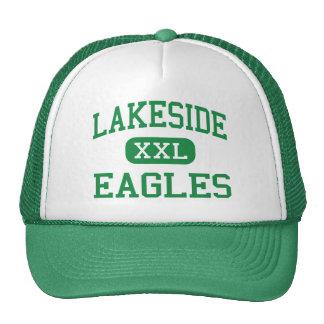 Orilla del lago - Eagles - alta - nueve caídas de  Gorros Bordados