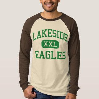 Orilla del lago - Eagles - alta - nueve caídas de Playera