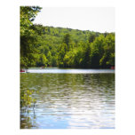 Orilla del lago membrete