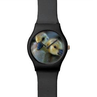 Orilla del lago reloj de mano
