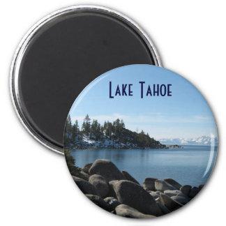 Orilla del norte el lago Tahoe, pueblo de la Imán Redondo 5 Cm