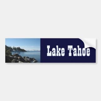 Orilla del norte el lago Tahoe, pueblo de la Pegatina Para Auto